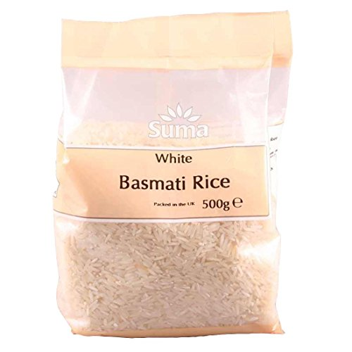 Suma Prepacks | Rice - basmati white | 2 x 500g from Suma Prepacks