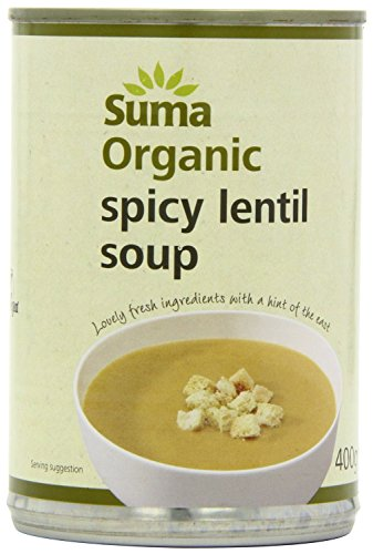 Suma Spicy Lentil Soup 400g (Pack of 2) from Suma