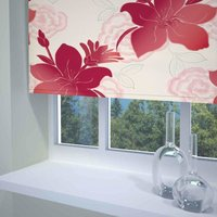 Lily Ready Made Blackout Roller Blind Red from Sunflex