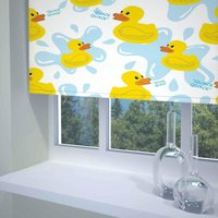 Quack Quack Ready Made Blackout Roller Blind Multi from Sunflex Blinds