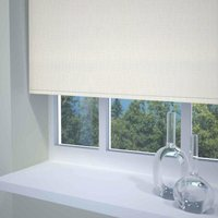 Textured Ready Made Blackout Roller Blind Neutral from Sunflex