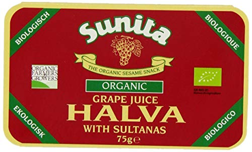 (2 Pack) - Sunita - Grape Juice & Sultana Halva | 75g | 2 PACK BUNDLE from Sunita