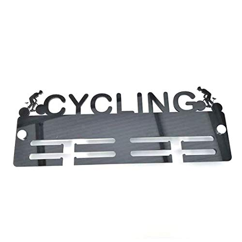 Super Cool Creation Cyclist Medal Hanger - Red from Super Cool Creation