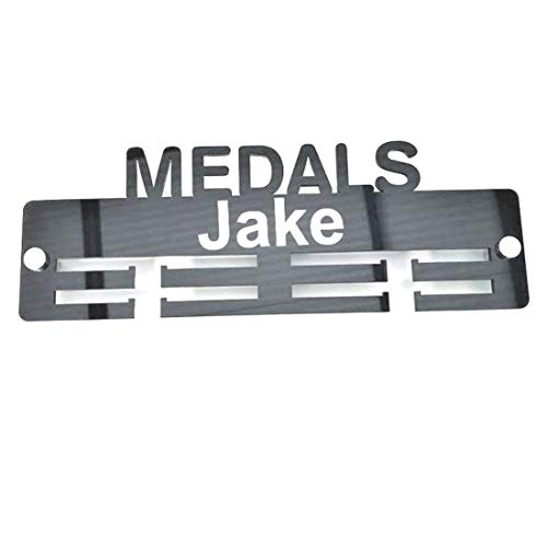 "Super Cool Creation Personalised""Medal"" Medal Hanger - Bright Green from Super Cool Creation"