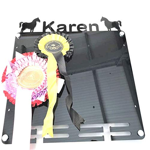 Super Cool Creation Personalised Rosettes & Medal Hanger - Graphite Grey from Super Cool Creation