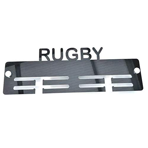 Super Cool Creation Rugby Medal Hanger - Light Grey from Super Cool Creation