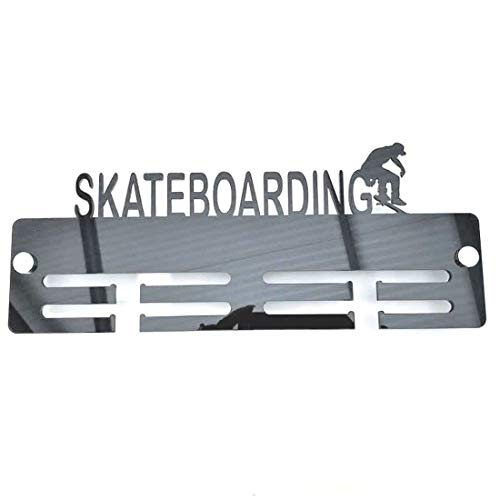Super Cool Creation Skateboarder Medal Hanger - Light Grey from Super Cool Creation