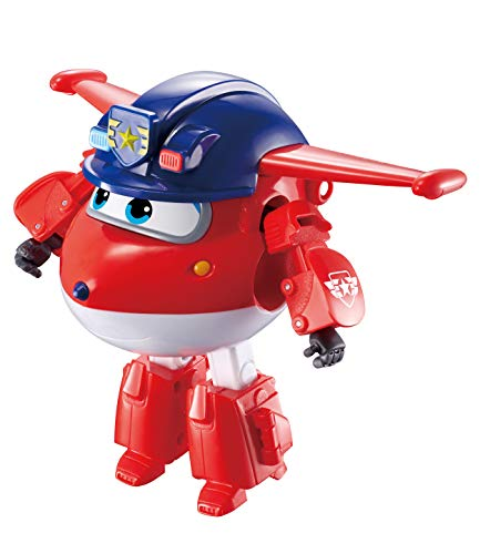 Super Wings - Transforming Vehicle | Series 3 | Police Jett | Plane | Bot | 5 Inch Figure from Super Wings
