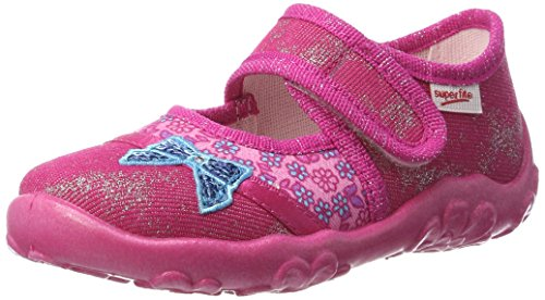 Superfit Girls' Bonny Low-Top Slippers, (Pink Kombi), 2 UK (34 EU) from Superfit