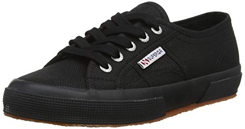 Superga 2750-cotu Classic, Unisex Adult's Fashion Low-Top Trainers, Black (996), 10.5 UK (45 EU) from Superga