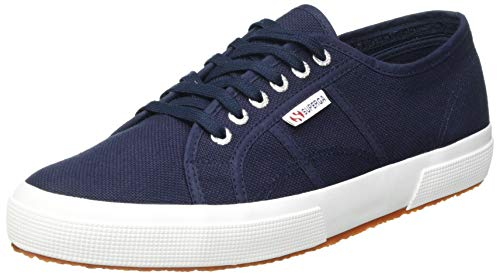 Superga Unisex Adults' 2750 Cotu Classic Trainers Low-Top, Blue (Navy-White F43), 8 UK (42 EU) from Superga
