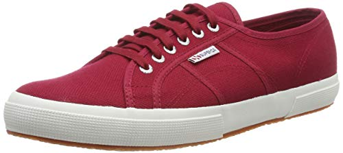 Superga 2750-cotu Classic, Unisex Adult's Fashion Low-Top Trainers, Red (Scarlet S104), 11 UK (46 EU) from Superga