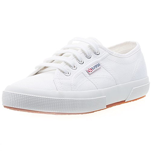 Superga 2750 Cotu Classic, Unisex Adults' Low-Top Sneakers, White, 7.5 UK (41.5 EU) from Superga