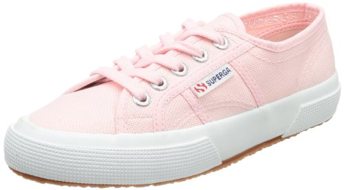Superga Unisex Adults' 2750 Cotu Classic Trainers Low-Top, Pink, 9.5 UK (44 EU) from Superga