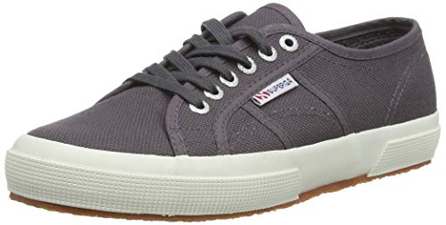 Superga 2750-cotu Classic, Unisex Adult's Fashion Low-Top Trainers, Dark Grey Iron, 5 UK (38 EU) from Superga