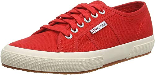 Superga 2750-cotu Classic, Unisex Adult's Low-Top Sneakers, Red, 7 UK (41 EU) from Superga
