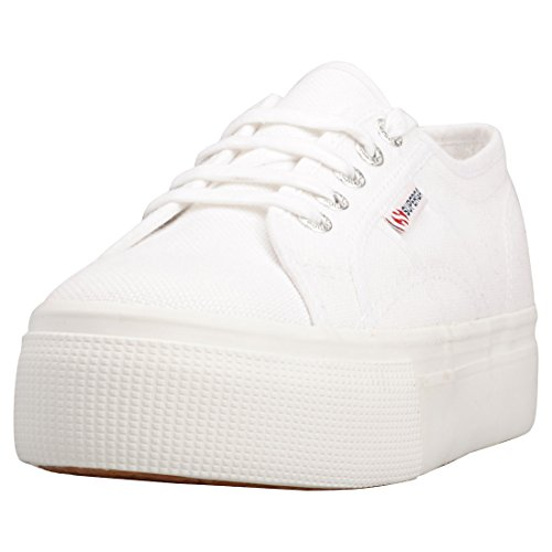 Superga 2790 Linea Up Down, Unisex Adults' Low-Top Sneakers, White (901 White), 6 UK (39.5 EU) from Superga