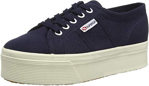 Superga 2790 Linea Up Down, Unisex Adults' Low-Top Sneakers, Blue (933 Navy), 5 UK (38 EU) from Superga