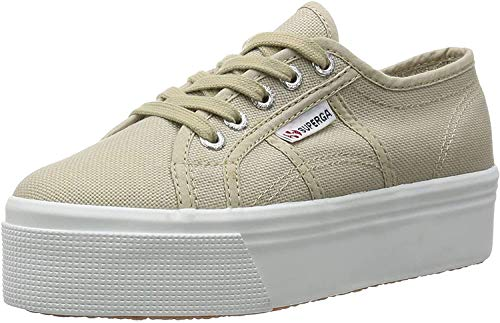 Superga 2790 ACOTW LINEA UP AND, Women's Low-Top Sneakers, Beige (Taupe), 7 UK from Superga