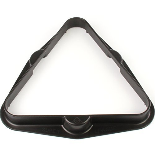 SUPERLEAGUE 2INCH (51mm) 15 Ball BLACK Plastic Triangle from Superleague
