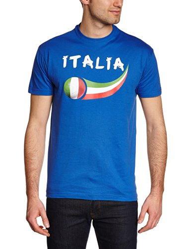 Supportershop Kids Italy Fan T-shirt - Royal, Large from Supportershop