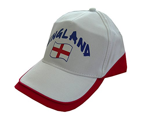 Supportershop England Cap, White, One Size from Supportershop