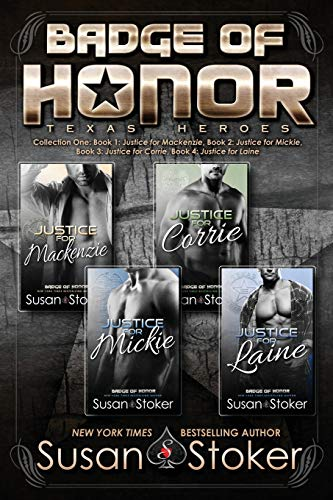 Badge of Honor: Texas Heroes Collection One from Susan Stoker