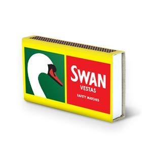 Swan Vestas Matches - Box - Pack of 48 from Swan