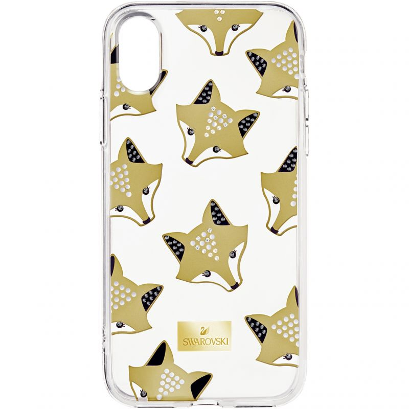 Swarovski March Fox IphoneX Mobile Phone Case from Swarovski Jewellery