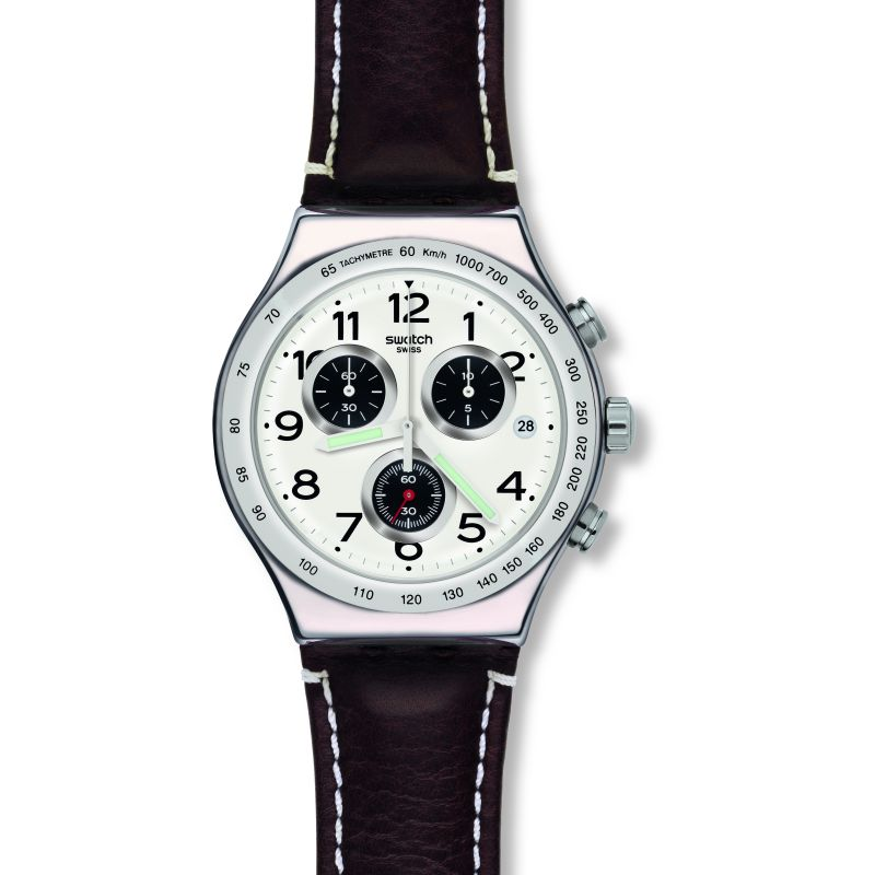 Mens Swatch Destination Hamburg Chronograph Watch from Swatch