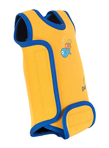 SwimBest Baby Wetsuit Orange Squash 0-6 Months Best for Swimming Pools & Beach, Keeps Baby Warm in Water from SwimBest