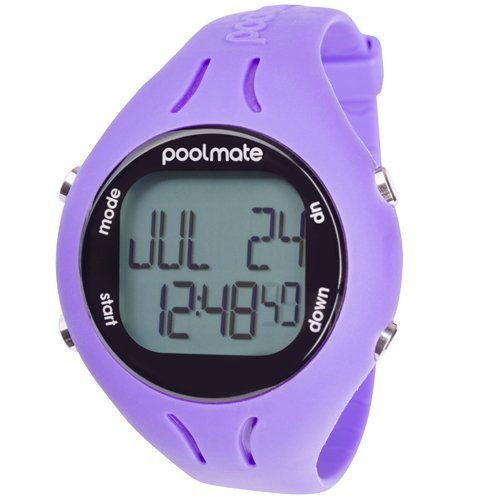 Swimovate Unisex's PoolMate2 PoolMateLiveClip, Purple, One Size from Swimovate