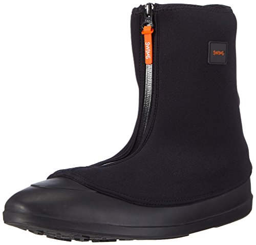 Swims Men's Mobster Waterproof Galoshes Black M (8-8.5 UK) from SWIMS
