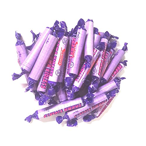 Parma Violets - Mini Candy Sweets Rolls Swizzels Matlow (Pack of 30) from Swizzels Matlow