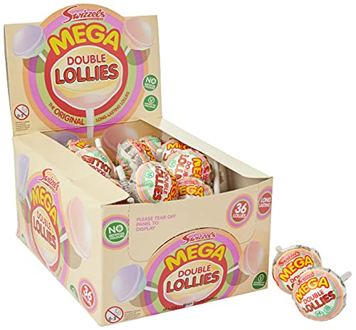 Swizzels Matlow 36 Mega Double Lollies from Swizzels Matlow