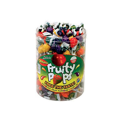 Swizzels Matlow Fruity Pops (Tub of 130) from Swizzels