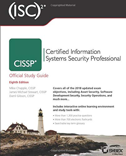 (ISC)2 CISSP Certified Information Systems Security Professional Official Study Guide (Isc Official Study Guides) from Sybex