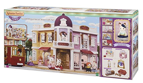 Sylvanian Families 6022 Grand Department Store Gift Playset, New Town Series from Sylvanian Families