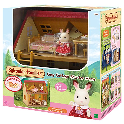 Sylvanian Families Cosy Cottage Starter Home Set,Multicolor from Sylvanian Families