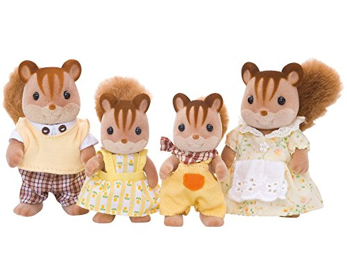 Sylvanian Families - Walnut Squirrel Family from Sylvanian Families