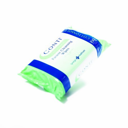 Conti CottonSoft Dry Wipe Large, 30 x 35cm, Pack of 100 from Synergy Health