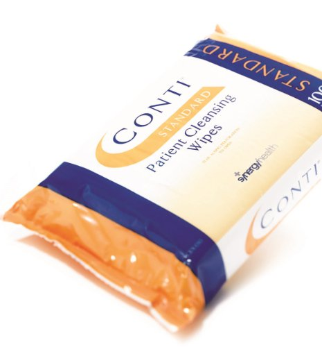 Conti Standard Dry Wipe Medium, 20 x 32cm, Pack of 100 from Synergy Health