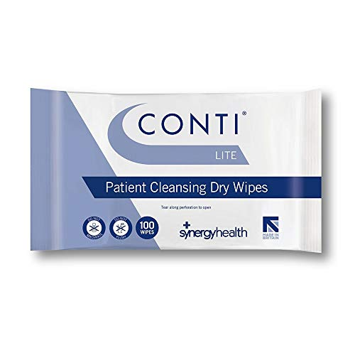 Synergy Health 100 Conti Lite Economy Dry Patient Cleansing Wipes by Synergy Healthcare from Synergy Health