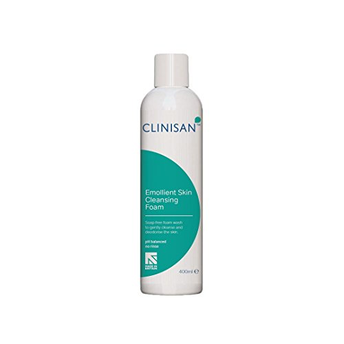Synergy Clinisan Emollient Skin Cleansing Foam (3 Canisters of 400ml) from Synergy