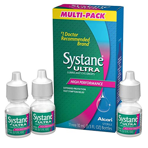 Systane Ultra Lubricant Eye Drops 0.3 Fluid Ounce from Systane