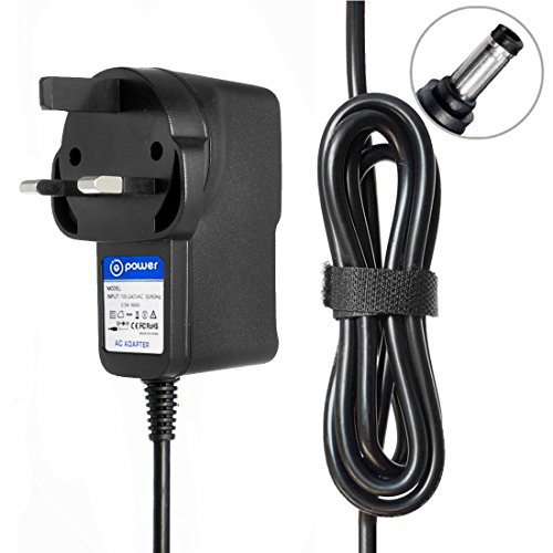 T POWER (12v Ac Adapter for Power Pax PowerPax SW3113, SW3113B, UI318-12 ACTM-09 85-2902 UI315-12 SW4368 GP302B-120-100 Charger Power Supply from T POWER