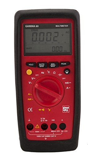 ST GM47-615N000000000 Sifam Tinsley Digital Multimeter with Normal probe, 6600 Counts, CAT III 1000V, IV 600V from T & S