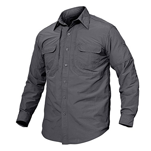 Sports shirts find tacvasen products online at wunderstore for Lightweight breathable long sleeve shirts