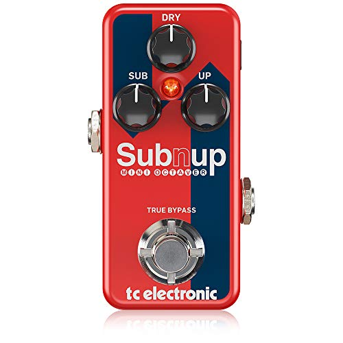 tc electronic Sub 'N' Up Mini Octaver Advanced Polyphonic Octave Engine and Tone Print Enabled Technology from TC