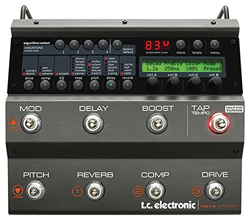 tc electronic Nova System Effects Pedal from TC